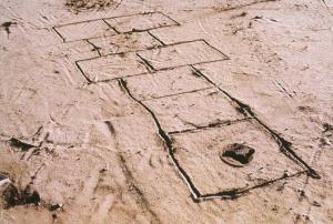 Landmine Hopscotch